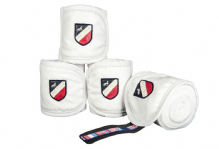 HKM INTERNATIONAL FLAGS BANDAGES WHITE  RRP £17.95